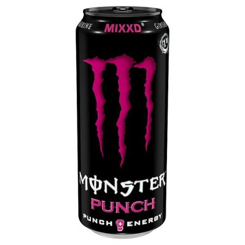 Monster Punch Mixxd 500ml Case 12 Cans (UK)